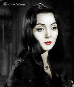 The Original Morticia Addams (Carolyn Jones) 1964-1966 ...