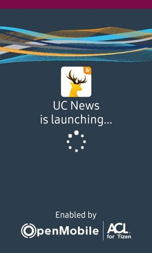 smartphone app uc news app now added to the tizen store iot gadgets