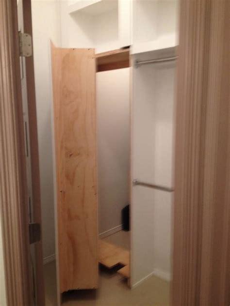 closet  hidden safe room