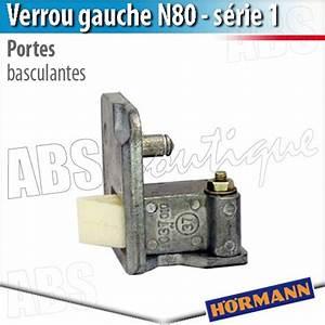 verrou porte basculante debordante hormann serie 1 gauche With pieces detachees pour porte de garage basculante