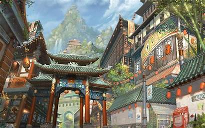 Chinese Desktop Wallpapers Fantasy Korean Japanese Artwork