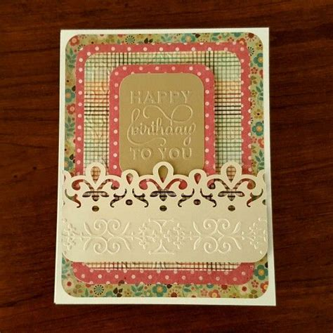 birthday card     ivory card stock anna