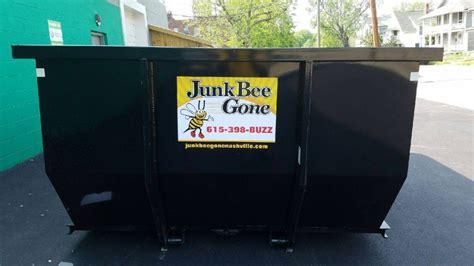 driveway dumpsters nashville tn junk bee  nashville