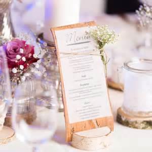 menus de mariage comment présenter menu de mariage