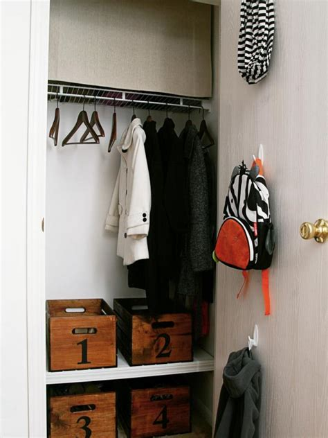 Closet Organization Ideas by 20 Small Closet Organization Ideas Hgtv