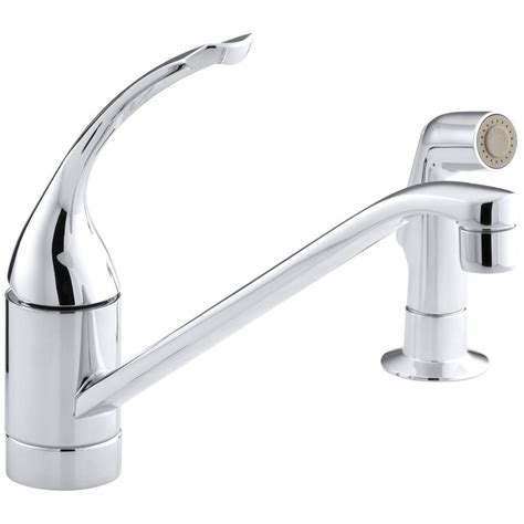 kohler coralais bidet faucet kohler coralais single handle standard kitchen faucet with