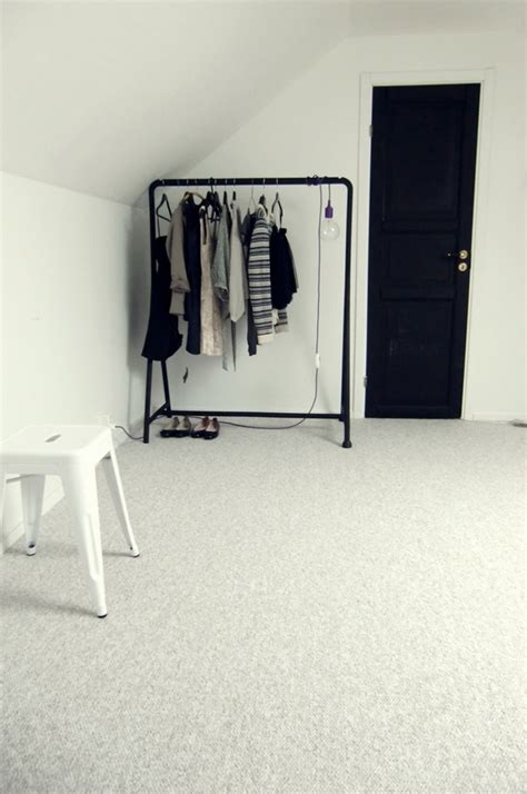 porte habits chambre clothes rail ikea
