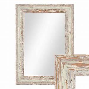 Spiegel Weiß Shabby : wand spiegel 26x36 cm im holzrahmen weiss shabby chic ~ Sanjose-hotels-ca.com Haus und Dekorationen