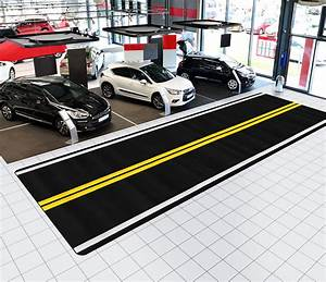 indoor street rug road rug specialty garage rug car With auto convention flooring