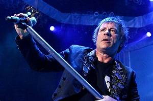 Iron Maiden Frontman Bruce Dickinson Discusses Cancer ...