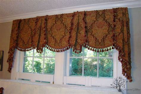 custom window valance  fabric madetoorder
