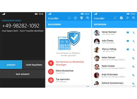 truecaller jetzt als beta f 252 r windows 10 mobile deskmodder de