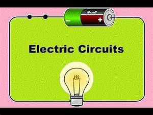 Electrical Circuits - Series and Parallel -For Kids - YouTube