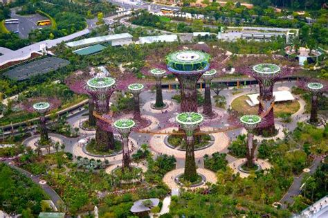 singapore hotel 5 gardens by the bay view from our room picture of marina