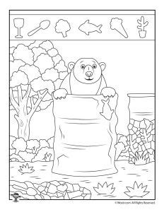easy pictures with animals printable activity pages 676 | preschool hidden pictures 232x300