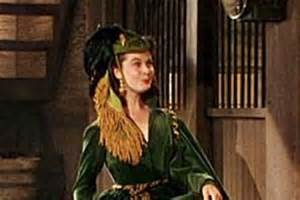 green curtain dress worn by vivien leigh as scarlett o