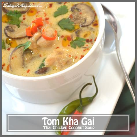 tom kha suppe tom kha gai thai chicken coconut soup today i might