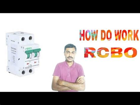 How Does Work Rcbo Circuit Breaker Youtube