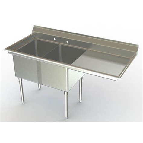 aero nsf approved double bowl commercial sinks