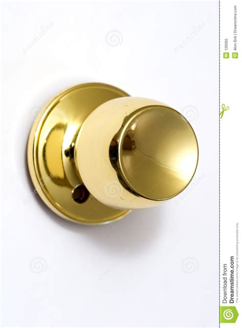 golden door knob royalty free stock photo image 126065