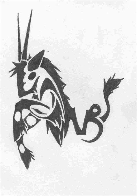 Capricorn Tattoos Designs, Ideas and Meaning | Tattoos For You