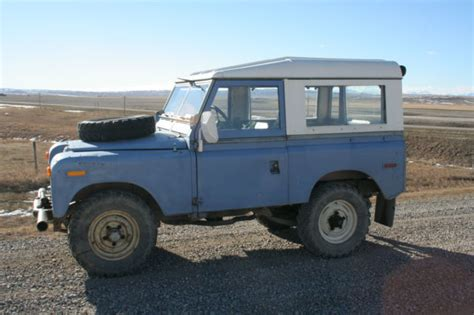 1963 Land Rover Series 2a For Sale