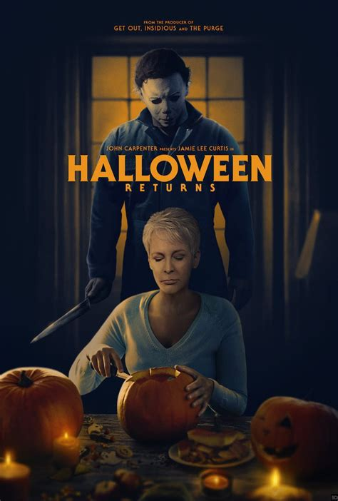 Awesome 'halloween' Fan Poster Reunites Laurie And Michael