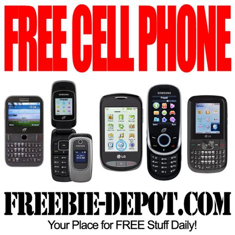 Free Cell Phone  Freebie Depot