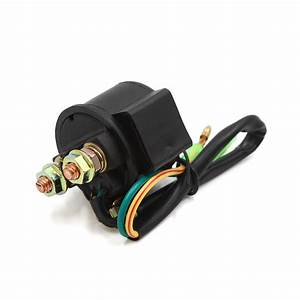 Dc 12v 2 Wire Motorcycle Scooter Starter Solenoid Relay