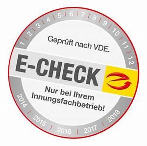 E Check Prüfung : e check elektro solartechnik martin walz ~ Frokenaadalensverden.com Haus und Dekorationen