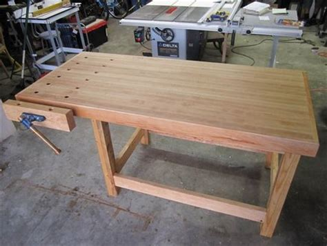 maple workbench  milbert  lumberjockscom
