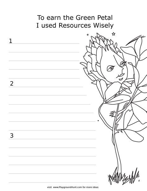 Daisy Petal Worksheets Printabl On Daisy Petal Coloring