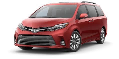 2020 Toyota Sienna Interior And Exterior Color Options