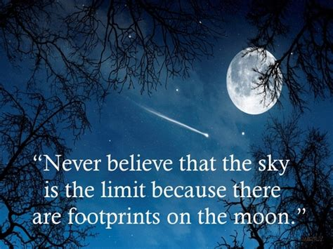 Sky Isnt The Limit Quotes