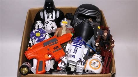 toy box star wars mashers cars kinder joy darth vader