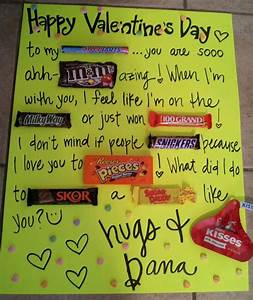 valentines day candy cards for him | Valentine's day card ...