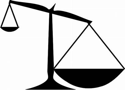 Scales Scale Uneven Clipart Way Justice Clip