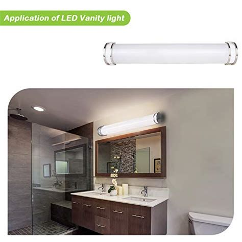 48 Inch Bathroom Light Fixtures by Hykolity 48 Inch 35w Integrated Led Linear Vanity Light