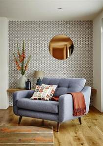 wallpaper for livingroom decorating with retro wallpaper 32 eye catchy ideas digsdigs