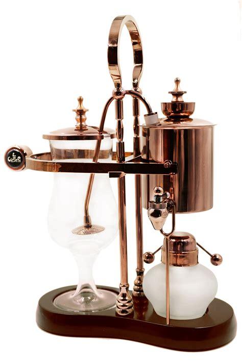 The genuine balancing siphon coffee maker hearkens back to another era. Diguo Belgian/Belgium Luxury Royal Family Balance Syphon Coffee Maker. Elegant | eBay