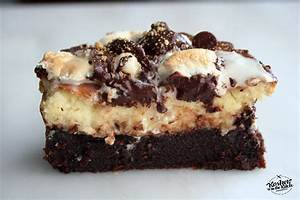 Brownie Cheesecake S'mores - Kosher In The Kitch!