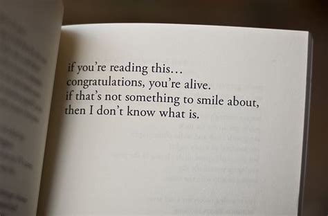 alive book life reading sayings smile image