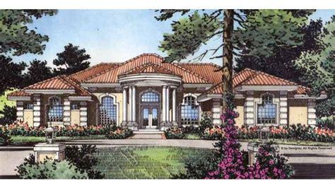mediterranean style house plan beds baths sqft plan en planos de