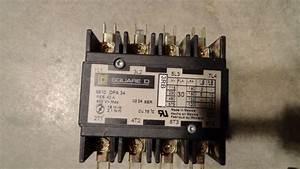Square D Contactor 8910 Dpa 34 4pole 600vac 30amp