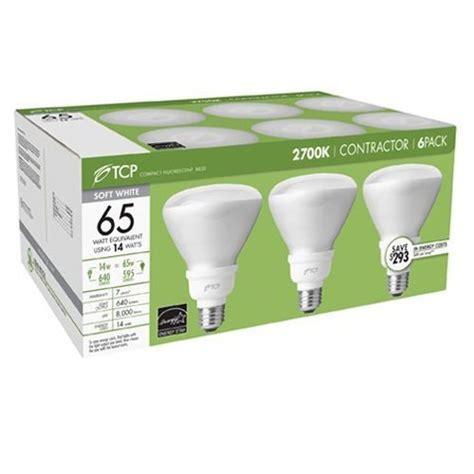 tcp 14 watt soft white compact fluorescent flood light
