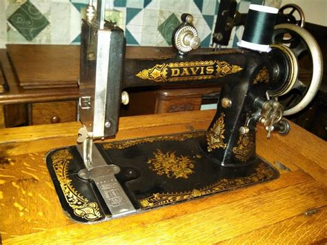 behold the rare and coveted davis vertical feed sewing machine c 1880s sewing