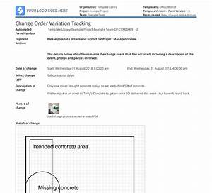 Construction Change Order Software  Improve Your Change