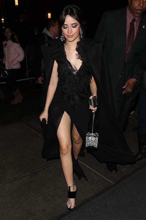 Camila Cabello Arrives Clive Davis Pre Grammy Party