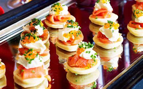 creme fraiche cuisine smoked salmon blinis creme fraiche