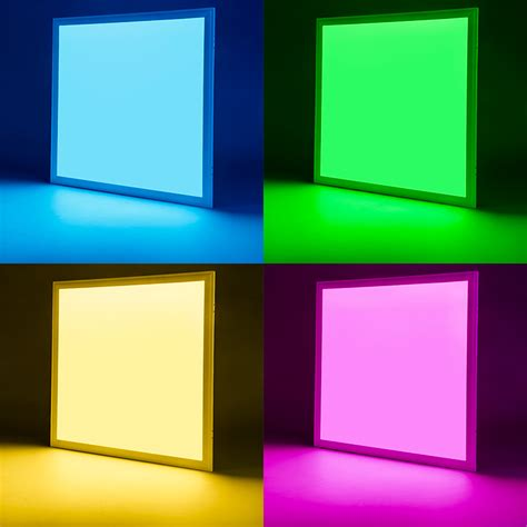2x2 led light panel rgb led panel light 2x2 36w dimmable even glow light